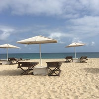 Photo taken at Angulo Beach Club by Paulien V. on 6/19/2017