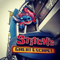 Photo taken at Stitch's Great Escape! by Wesley J. on 9/27/2013