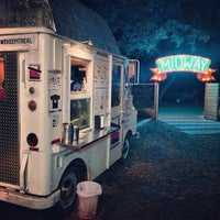 Photo taken at The Midway Food Park by Neal on 11/7/2013