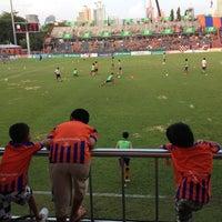 Photo taken at PAT Stadium by Hiroyuki I. on 10/21/2012