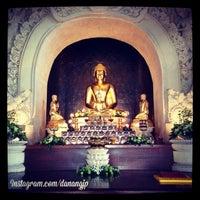Photo taken at Vihara Buddha Sakyamuni by Danang J. on 6/8/2014