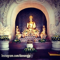 Photo taken at Vihara Buddha Sakyamuni by Danang J. on 5/25/2014