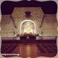 Photo taken at Vihara Buddha Sakyamuni by Danang J. on 5/29/2014