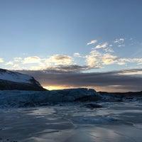 Photo taken at Svínafellsjökull by Jade L. on 1/25/2018