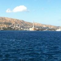 Photo taken at Porto di Messina by Fabrizio B. on 5/31/2013