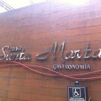 Photo taken at Casa Santa Marta Gastronomia by Mirella L. on 3/30/2013