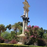 Foto tomada en Jardines de Murillo | Paseo Catalina de Ribera por Ubu M. el 8/7/2013