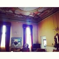 Photo taken at Ruzzini Palace by Elnara P. on 9/20/2013