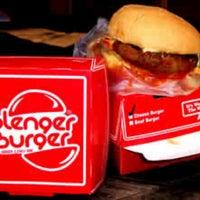 Photo taken at Blenger Burger by Nita Y. on 9/22/2012
