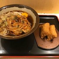 Photo taken at そば新 お茶の水店 by Toshiyuki K. on 8/10/2018