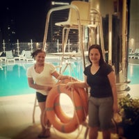 Photo taken at Al Jazeera Towers Private Pool by Mischel C. on 10/13/2013