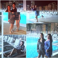 Photo taken at Al Jazeera Towers Private Pool by Mischel C. on 10/7/2013