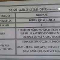 Photo taken at Türkiye İş Kurumu Soma Şube Müdürlüğü by BUZ LAZER EPİLASYON 0. on 1/6/2016