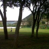 Photo taken at Instituto Bilingüe La Silla by Manuel H. on 10/17/2012