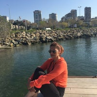 Photo taken at Cakiroglu marina by Sermin E. on 4/4/2016