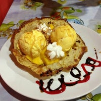 Photo taken at Crepe Cottage by Sueanne on 6/5/2013