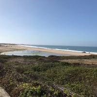 Photo taken at Gazos Creek Beach by Donita W. on 10/3/2017