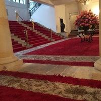 Photo taken at Palacio de San Carlos by Isabel G. on 10/8/2014
