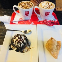 Photo taken at Cafe Coffee Day (Kowdiar) by Casper A. on 12/29/2017