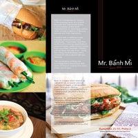 Photo taken at Mr. Bánh Mì by Mr. Bánh Mì on 8/31/2014