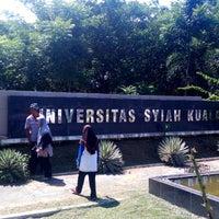 Photo taken at Universitas Syiah Kuala by Faiz M. on 12/1/2014