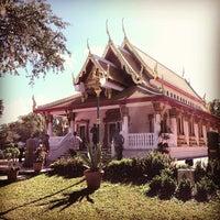 Photo taken at Wat Mongkolratanaram Buddhist Temple by Javish R. on 12/2/2012