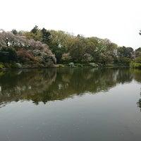 Photo taken at 大池 by piroko s. on 4/2/2018