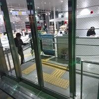 Photo taken at 日立駅情報交流プラザ ぷらっとひたち by piroko s. on 12/8/2017