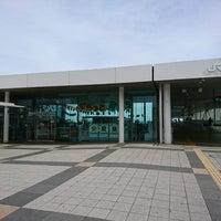 Photo taken at 日立駅情報交流プラザ ぷらっとひたち by piroko s. on 10/5/2017