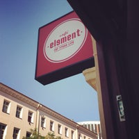 Photo taken at Café Element by Rudolf M. on 9/11/2013