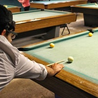 Photo taken at Q22 Billiards by Cristhian on 4/14/2014