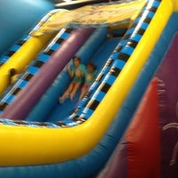 Photo taken at Pump It Up by Kathy E. on 6/21/2013