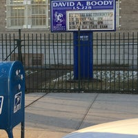 Photo taken at I.S. 228 David A. Boody by Frank on 3/13/2017