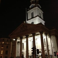 Photo taken at St Martin-in-the-Fields by Frank on 3/4/2013