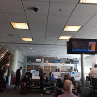 Photo taken at Concourse A by Frank on 4/21/2017