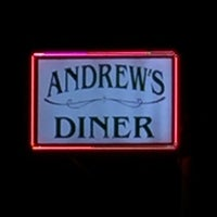 Photo taken at Andrew's Diner by Frank on 3/26/2017