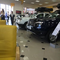 Photo taken at Renault автоцентр Астэк by Олжас И. on 9/24/2014