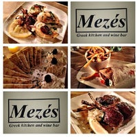 Photo taken at Mezes Kitchen & Wine Bar by Mezes Wine Bar & Greek Kitchen m. on 8/25/2013