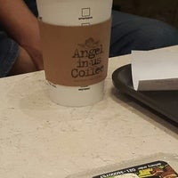 Photo taken at Angel-in-us Coffee by Charles X. on 9/2/2014