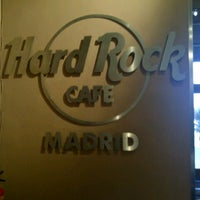 Photo taken at Hard Rock Cafe Madrid by Andres T. on 3/28/2013