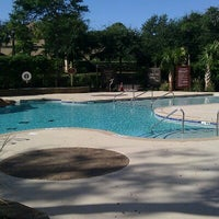 Photo taken at Marriott Ocean Watch Woodsy Serenity Pool by Christa L. on 9/14/2012