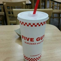Photo taken at Five Guys by Jessica B. on 12/17/2015