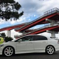 Photo taken at 中の島大橋 by Takuma あ. on 3/3/2017