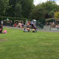 Photo taken at St Stephen's Green Playground by Cathy L. on 7/13/2017