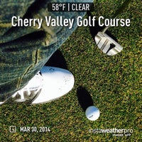 Photo taken at Cherry Valley Golf Course by lemorky on 3/30/2014