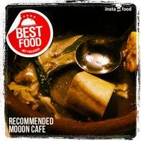 Photo taken at Mooon Cafe by lemorky on 5/11/2013
