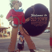 Photo taken at Old Town Scottsdale by Eva B. on 5/6/2013
