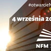 Photo taken at Narodowe Forum Muzyki by Narodowe Forum Muzyki on 2/2/2015