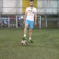 Photo taken at Eynal Halı Saha by Ömer A. on 7/26/2016