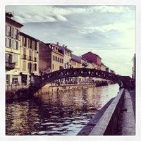 Photo taken at Naviglio Grande by Giorgio D. on 6/29/2013